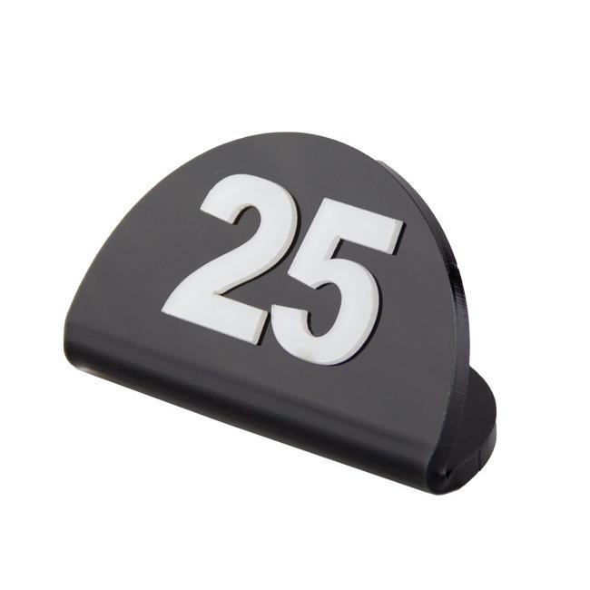 Акрилна стойка за номерация на маси 1-25 (ZCP 809) - Alka