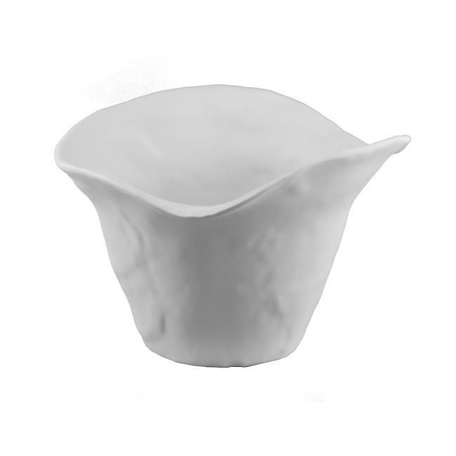 Меламинова купаза сосове 22x19,5xh15,5см бяла матирана (K-2019)- Alkan