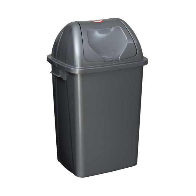 Пластмасов кош за отпадъци SMART 65л зелен SA-(4194)- Senyayla