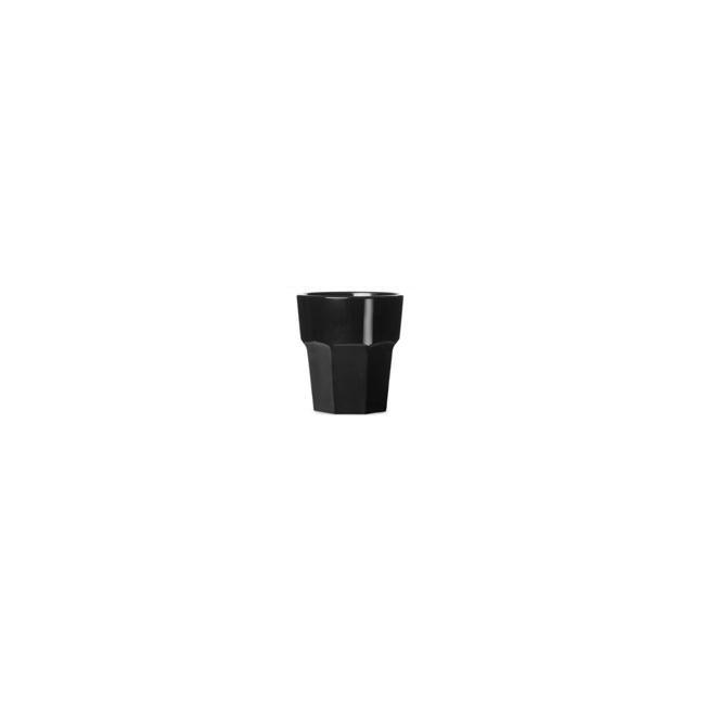 Поликарбонатна чаша 8,4xh9см 250мл черна RK-PREMIUM BLACK-(PM.250)- Rubikap