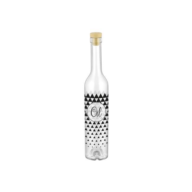 Стъклена бутилказа зехтин с тапа 500мл