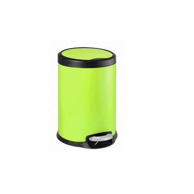 Кош с педал 22x22x28,5cм 5л зелен FANTASY G-(90985-003-G) - Horecano