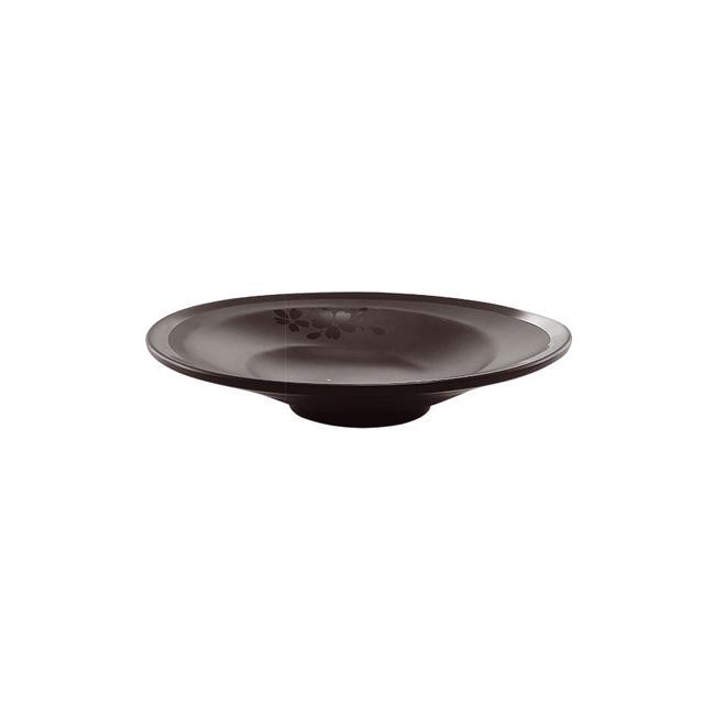 Меламинова чиния дълбока ф23см черна HORECANO-SHIBUI-(126609BK)