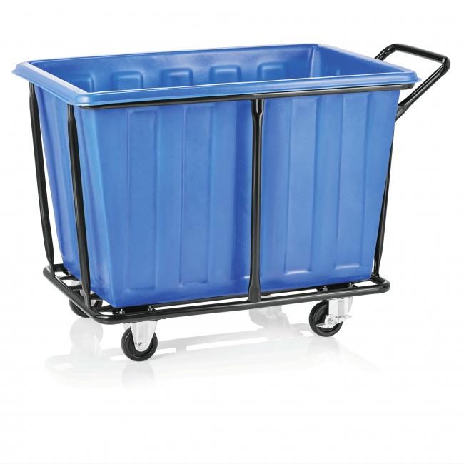 Количка за пране 118x72x82см., 330л. , 24кг. синя - WAS