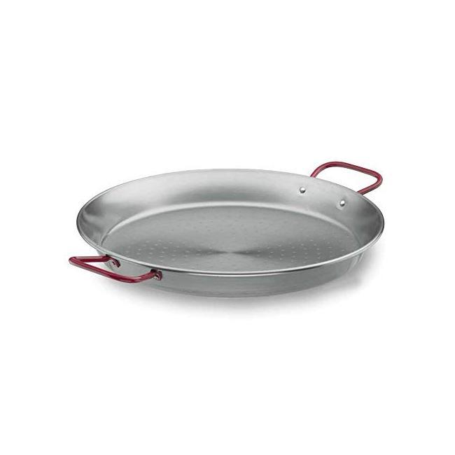 Метална тава  за паеля с червени дръжки Steel Pro ф30см - Lacor