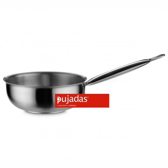 Иноксова касерола закръглена ф20см  2л  Н7,5см  HANDY  - Pujadas