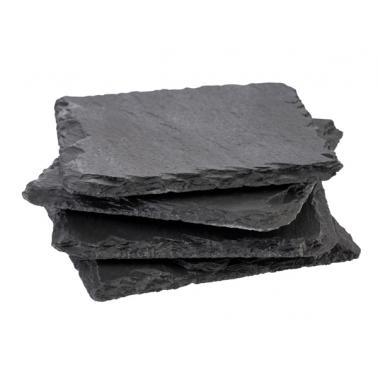 Каменни подложки за чаши  4бр. 10Х10см  - APS