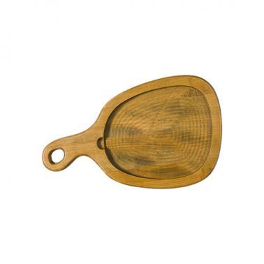 Дървена дъска 42x25,5xh2.5см BONNA-WOOD PIUMA-(WDPIU 25 DZ)