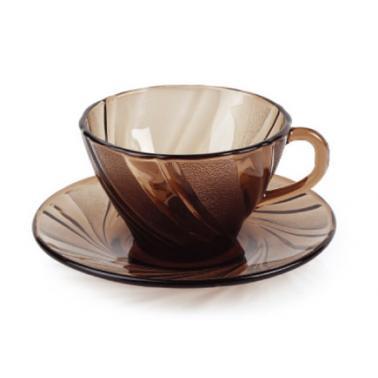 Сервиз дуралекс за кафе от 6 чаши с чинийки  BEAU RIVAGE - CREOLE (9005C S12)