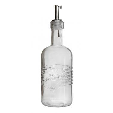 Стъклена бутилка с метален пурер 350мл OLD FASHIONED-(213211) - Horecano