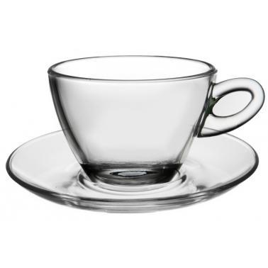Стъклена чаша за топли напитки Mocca Cappuccino 300мл 2бр.VM-1182000- Vitrum