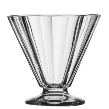 Стъклена чаша за мелба / десерти 269мл  ROCK VM-0813070 - Vitrum