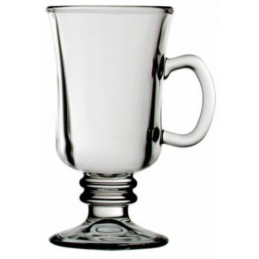 Стъклена чаша за топли напитки гладка 230мл VENEZIA VM-1902000 - Vitrum