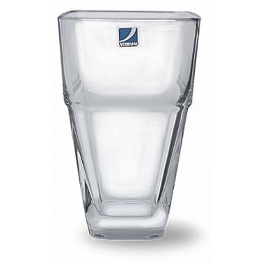 Стъклена ваза  висока  h20см RONDO VM-1249000 - Vitrum