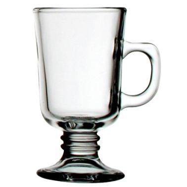 Стъклена чаша за топли напитки  малка 210мл