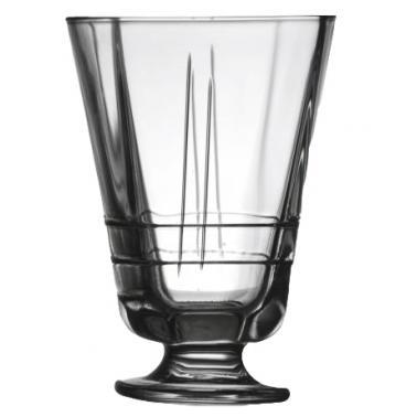 Стъклена чаша за десерт 305мл