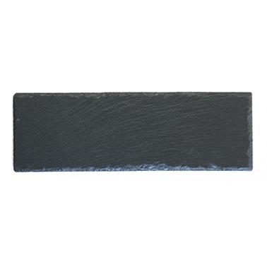 Каменна плоча за сервиране правоъгълна 30x10xh0,5см  (SL-PL-RE-3010) - Horecano