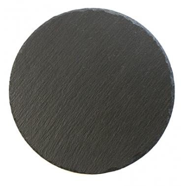 Каменна плоча за сервиране кръгла 25xh0,5см(SL-PL-RO-25) - Horecano
