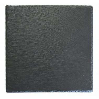 Каменна плоча за сервиране квадратна 20x20xh0,5см (SL-PL-RE-2020) - Horecano
