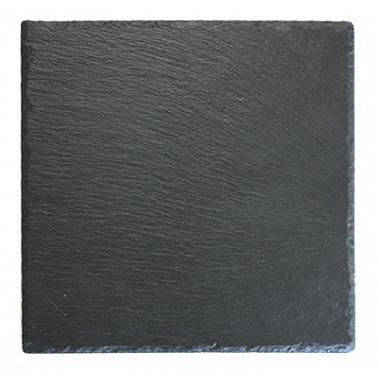 Каменна плоча за сервиране квадратна 25x25xh0,5см  (SL-PL-RE-2525) - Horecano
