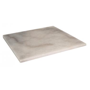 Мраморна плоча за сервиране квадратна 25x25xh1см (NM-TR-RE-2525) - Horecano