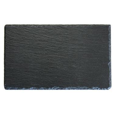 Каменна плоча за сервиране правоъгълна   40х30х0.47см (SL-PL-RE-4030) - Horecano