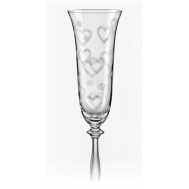 Стъклени ритуални чаши 190мл 2бр (40600/285775)(CX74)- Crystalex