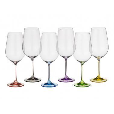 Стъклена чаша за червено вино 350мл RAINBOW(40729)(CX112)- Crystalex