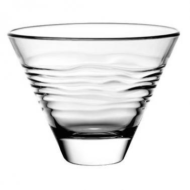 Стъклена купа конусовидна 330мл  12x10xh9см  VIDIVI-OASI (62749EM)