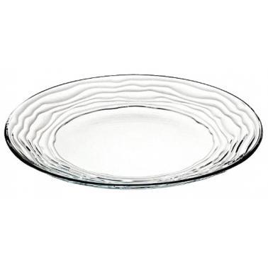 Стъклена чиния  ф21см  VIDIVI-OASI (61700EM)