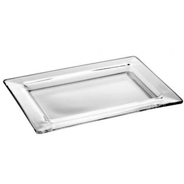 Стъклено плато за сервиране 24x18xh2,5см  VIDIVI-RIALTO (60664EM)