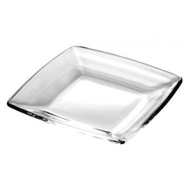 Стъклено плато квадратно за сервиране 23x23см  VIDIVI-TORCELLO (60186EM)