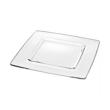 Стъклена чиния подложна 33x33см  VIDIVI-TORCELLO (67495M)