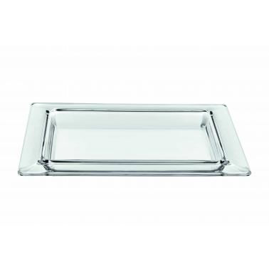 Стъклено плато за сервиране 40x30xh3,5см  VIDIVI-TORCELLO (60004EM)