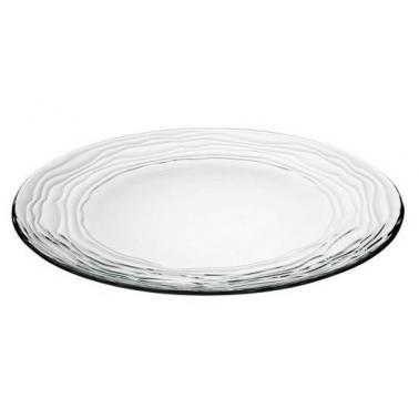 Стъклена чиния  ф28см  VIDIVI-OASI (61698EM)