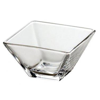 Стъклена купа квадратна 720мл 14x14xh8см   VIDIVI-TORCELLO (60188EM)