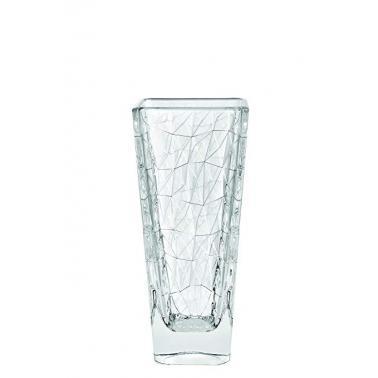 Стъклена ваза  11,5x11,5xh25см VIDIVI-DOLOMITI (68138M)