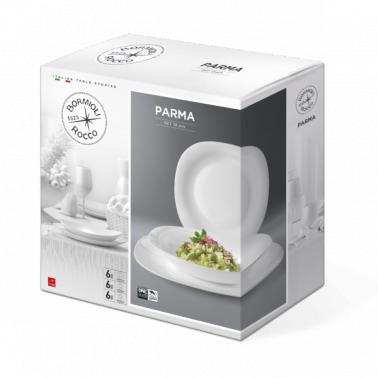 Сервиз за хранене аркопал   от  18 елемента ПАРМА (4.98930) - Bormioli Rocco
