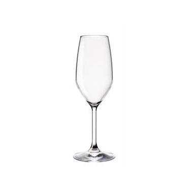 Стъклена чаша на столче за шампанско 240мл RESTAURANT-(1.96141)- Bormioli Rocco