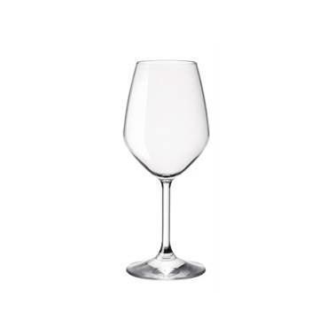 Стъклена чаша за бяло вино на столче 435мл RESTAURANT-(1.96121)- Bormioli Rocco