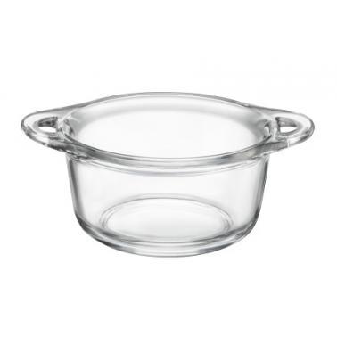 Стъклена  купичка за сервиране с дръжки 500мл PENTOLINO (1.25611) BUFFET - Horecano