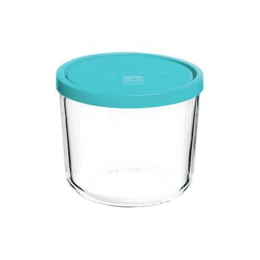 Стъклена кръгла кутия с капак ф12xh10см 800млFRIGOVERRE-(3.39140.MA2) - Bormioli Rocco