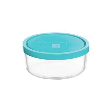 Стъклена кръгла кутия с капак ф12xh5,2см450млFRIGOVERRE-(3.88460.MA2) -Bormioli Rocco