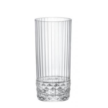Стъклена висока чаша за коктейли / вода