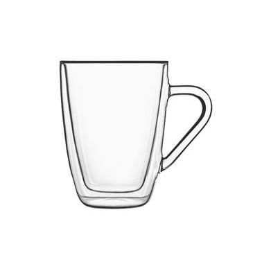 Стъклена двустенна чаша MUG 320млDRINK&DESIGN-(10356/01) (RM 377)- Luigi Bormioli