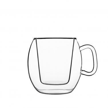 Стъклена двустенна чаша MUG 300мл DRINK&DESIGN-(10973/01) (RM 402) - Luigi Bormioli