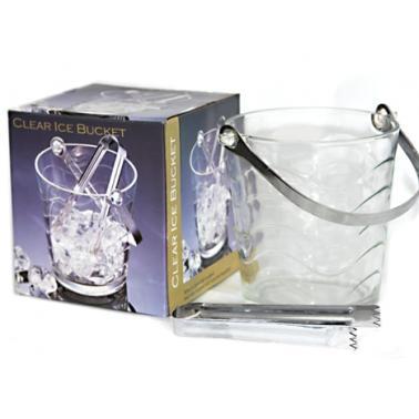 Стъклен съд за лед с метална дръжка  ТОРОС, JHBT-3B/BH1 - Horecano