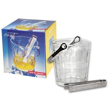 Стъклен съд за лед с метална дръжка КАРАТ JHВТ-3С/BH1 КС - Horecano