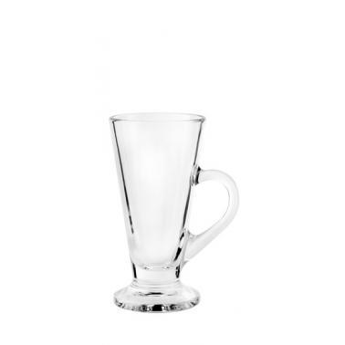 Стъклена чаша за топли напитки