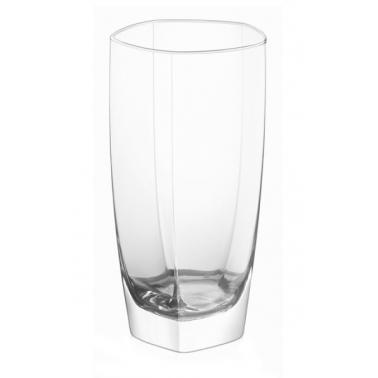 Стъклена чаша за вода / безалкохолни напитки  висока 390мл